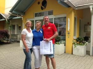Caro, Rosa und Werner