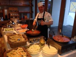 Küchenchef Mario Schiller