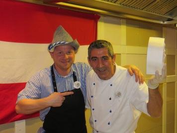Mario und Musti in den guten alten Zeiten im ROBINSON Club Ampflwang