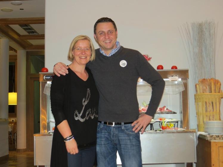 Carolin und unser Lieblingsclubchef HansPeter