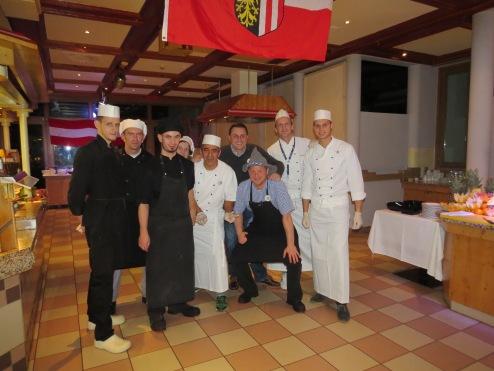 Das Küchen Team