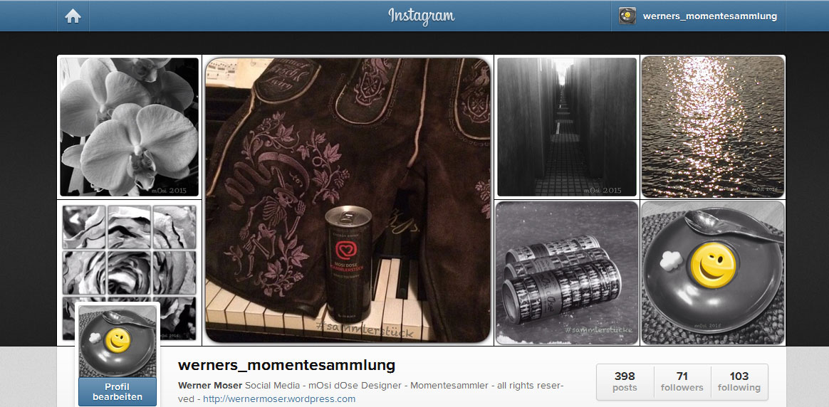 mOsi auf Instagram