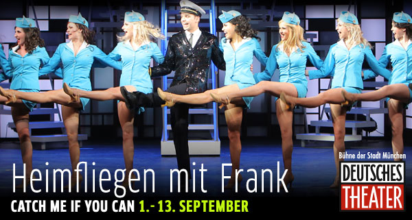 Catch me if you can, deutsches Theater, München
