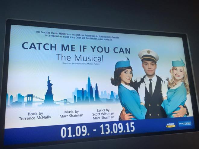 Catch me if you can, Theater, Deutsches Theater, München