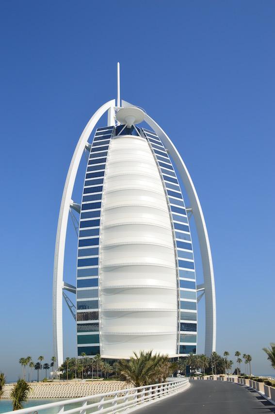 Burj Al Arab Dubai, moi-unterwegs