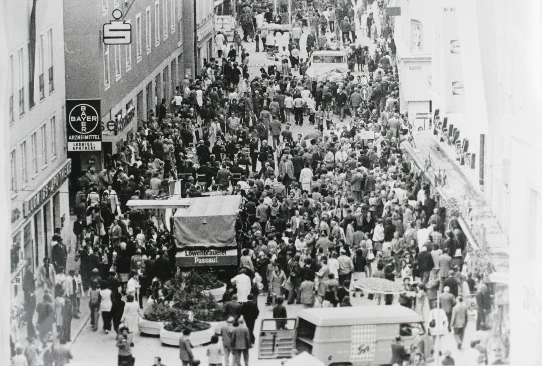 1976_10_2_Eröffnung Ludwigstr_1_Quelle Stadtarchiv