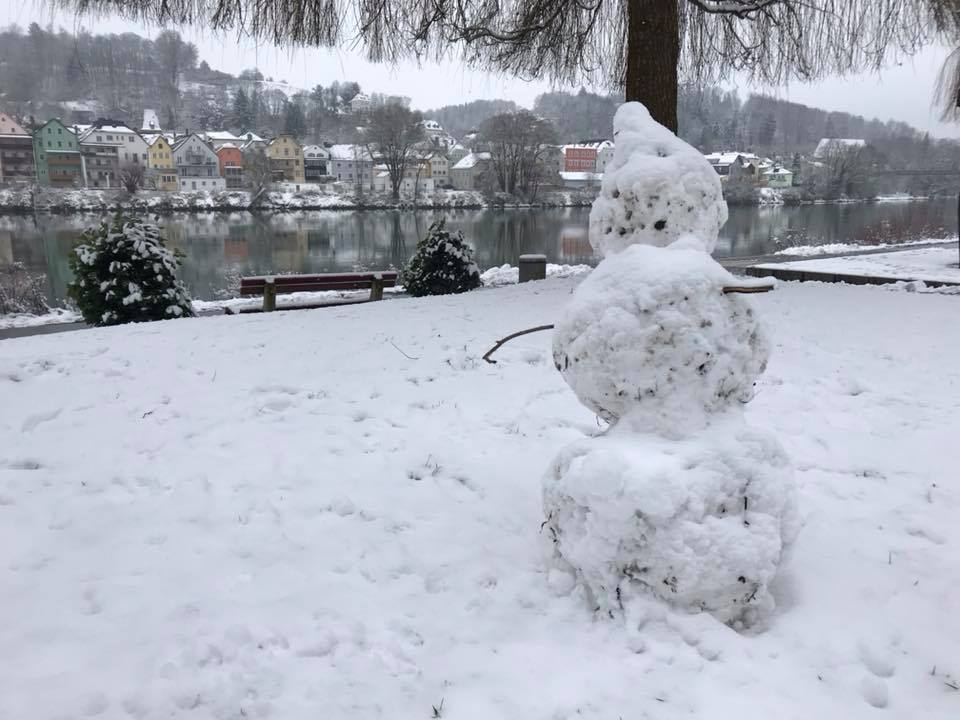 Winter in Passau