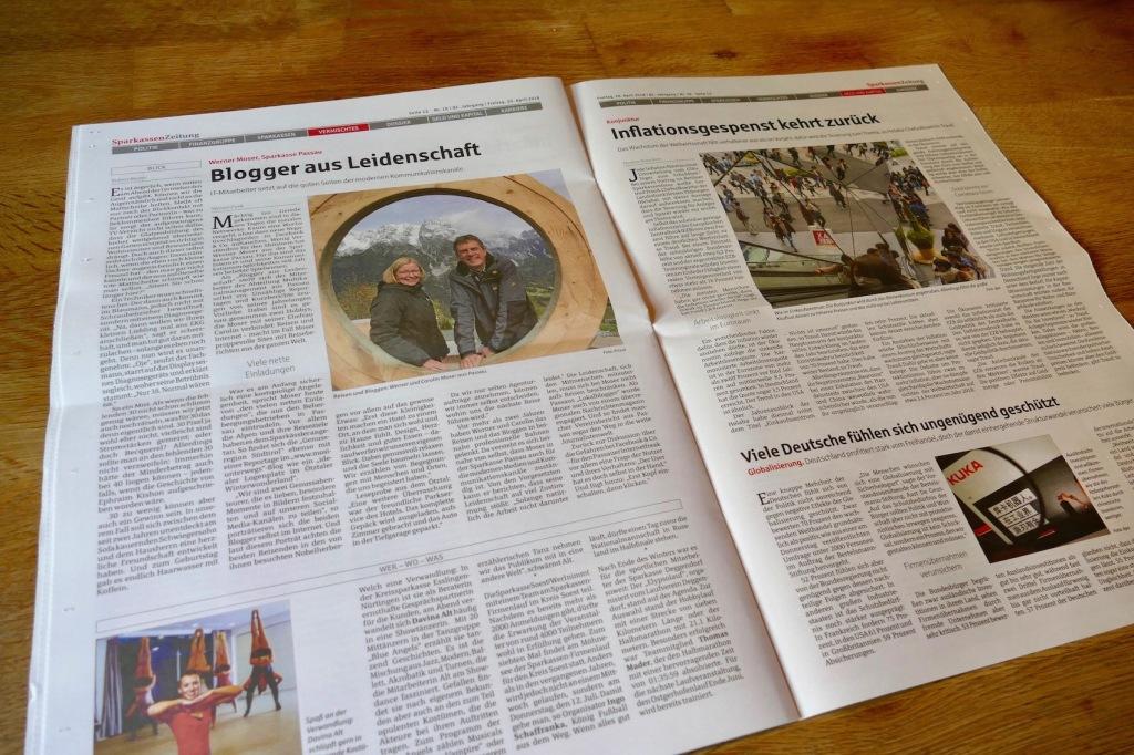 mosiunterwegs - Sparkassenzeitung